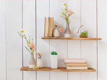 Creative Ways to Use Floating Shelves