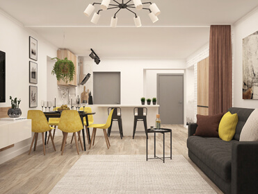 Top 4 Tips: How to Maximize Space in a Small Apartment